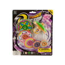Super Spinning Top Toy with Extra Colorful Discs