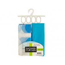 Shower Curtain with Liner & Rings Set