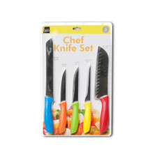 Colorful Chef Knife Set