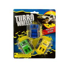 Pull Back Turbo Trucks