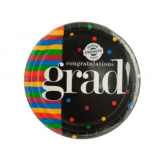 Congratulations Grad Party Plates