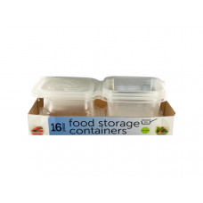 Food Storage Containers with Attached Lids