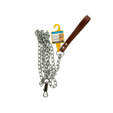 Chain Dog Leash with Durable Handle