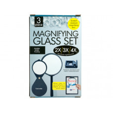 Scratch Resistant Magnifying Glass Set