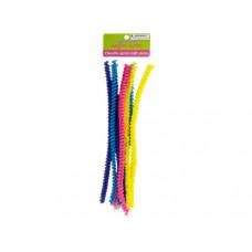 Chenille Spiral Craft Stems