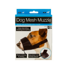 Adjustable Nylon Mesh Dog Muzzle