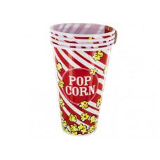 33 oz. Red Popcorn Bucket Cups Set