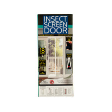 Insect Screen Door with Magnetic Closure