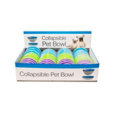 Collapsible Pet Bowl Countertop Display