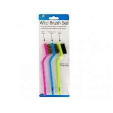Auto Care Wire Brush Set