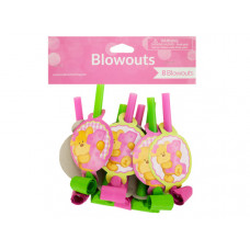 Girl's First Birthday Party Blowouts