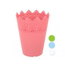 Decorative Small Round Multi-Use Flower Pot