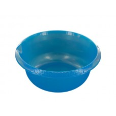 Round Plastic Basin with Pour Spout