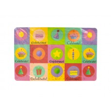 Celebrate Birthday Placemats Set