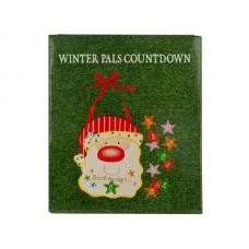 Christmas Countdown Santa Wall Decoration