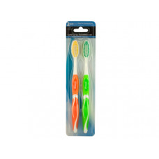 Colorful Soft Grip Toothbrush Set