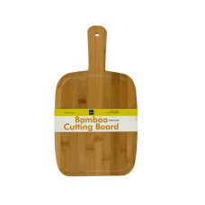 Paddle Style Bamboo Cutting Board