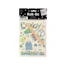 Baby Boy Designs Rub-On Transfers