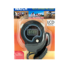 Sport Stopwatch with Neck Cord