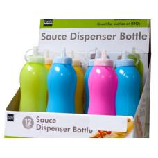 Sauce Squeeze Bottle Countertop Display
