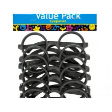 Black Rimmed Party Favor Eyeglasses