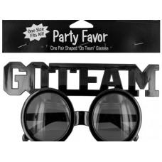 Go Team Shaped Party Favor Glasses