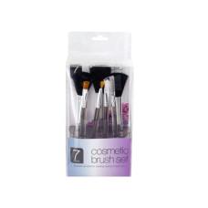 Clear Cosmetic Brush Set in Organizer