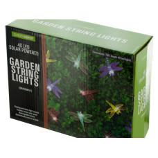 Dragonfly Solar Powered LED String Lights