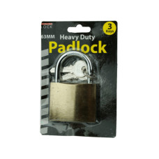 Metal Padlock with 3 Keys