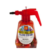 Water Balloon Filling Station with Balloons
