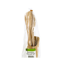 Bamboo Utensil Set with Container