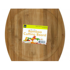Rounded Bamboo Cutting Board