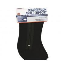 Medium Black Compression Ankle Support