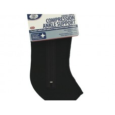 Large Black Compression Ankle Support