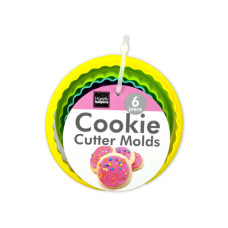 Round Flower Cookie Cutter Molds Set