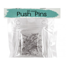 Clear Plastic Push Pins