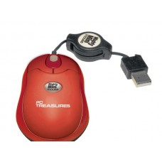 Red Retractable Mini Mouse