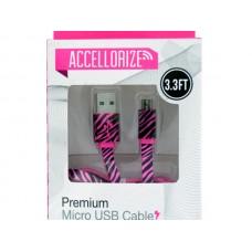 Accellorize Animal Print Micro USB Cable