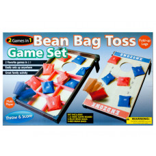 2 In 1 Bean Bag Toss Game Set