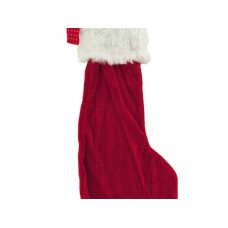 Christmas Stocking with Furry Cuff