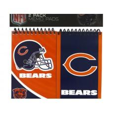 NFL Licensed Chicago Bears Memo Pads Set