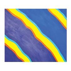 Blue Flash Wall Art