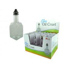 Glass Oil Cruet Countertop Display