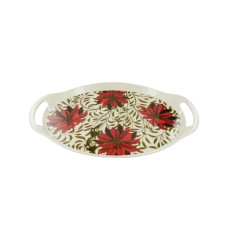Poinsettia Serving Tray Set