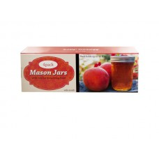 Wide Mouth Mason Jars with Lids Set