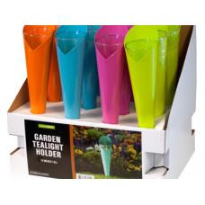 Metal Garden Tealight Holder Countertop Display