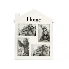 Home White Collage Photo Frame