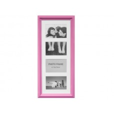 Vertical Pink Collage Photo Frame