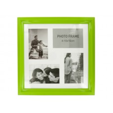 Lime Green Collage Photo Frame