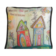 In Love You Live Paperweight Pillow